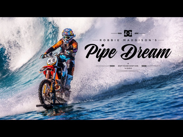 DC SHOES ROBBIE MADDISONS PIPE DREAM
