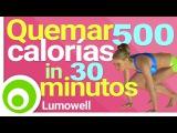 Quemar 500 Calorías 30 Minutos - Ejercicios Cardio para Quemar Grasa y Adelgazar en Casa