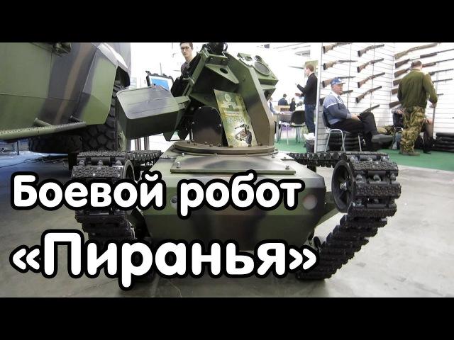 Боевой робот «Пиранья» - видео-обзор