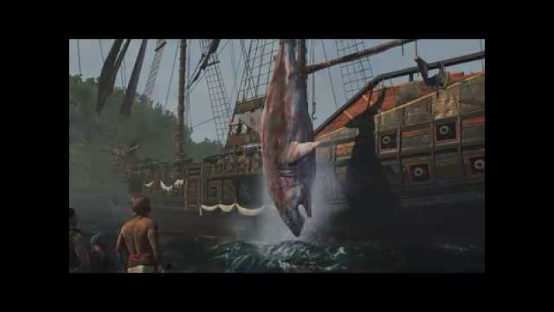 Assassin's Creed IV Black Flag - Охота на большую белую акулу