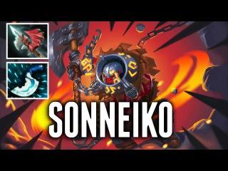 SoNNeikO Axe Carry with Hurricane Pike Dota 2 MMR Gameplay