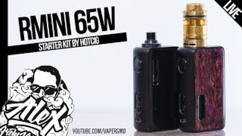 Rmini 65W Starter Kit l by Hotcig l Alex VapersMD review 🚭🔞