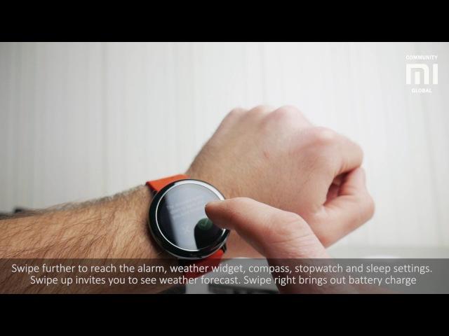 Фитнес Треккер Amazfit Pace Smartwatch International Version