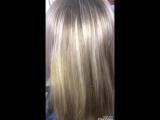 Моя красотка Галина до и после Ботокса волос 🚀👸😘
