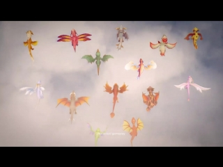 Полёт драконов в DragonVale World