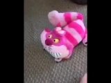2016 Disneys Animators Collection Interactive Cheshire Cat Talking Plush