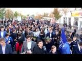 Шествие студентов. СКФ РГУП. Ул. Красная. Фильм