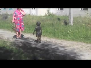 Прикол,ржач,НЛО контакт с пришельцами !!!