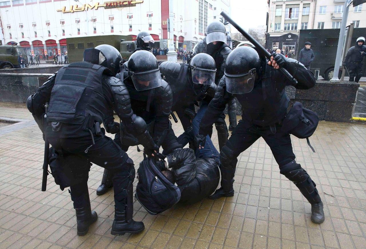 США прокомментировали меры властей Белоруссии в отношении участников акции в Минске