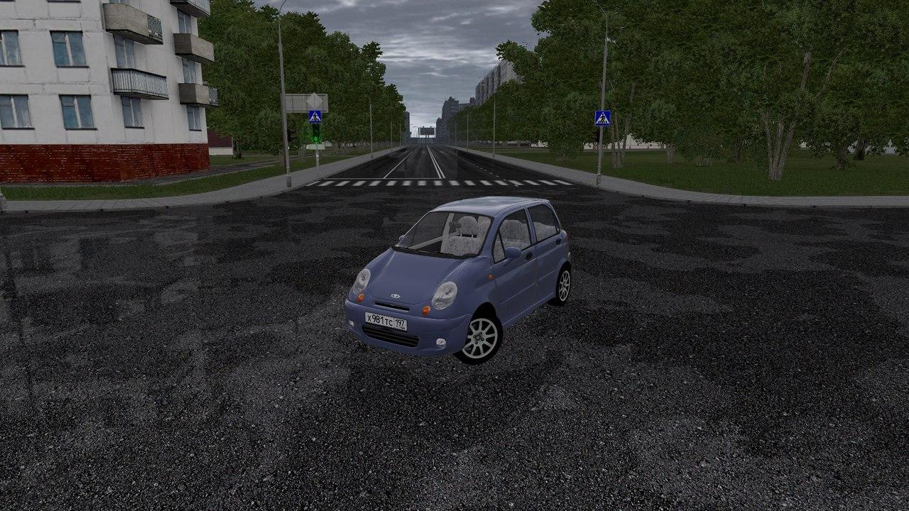 Daewoo Matiz для City Car Driving 1.5.0-2