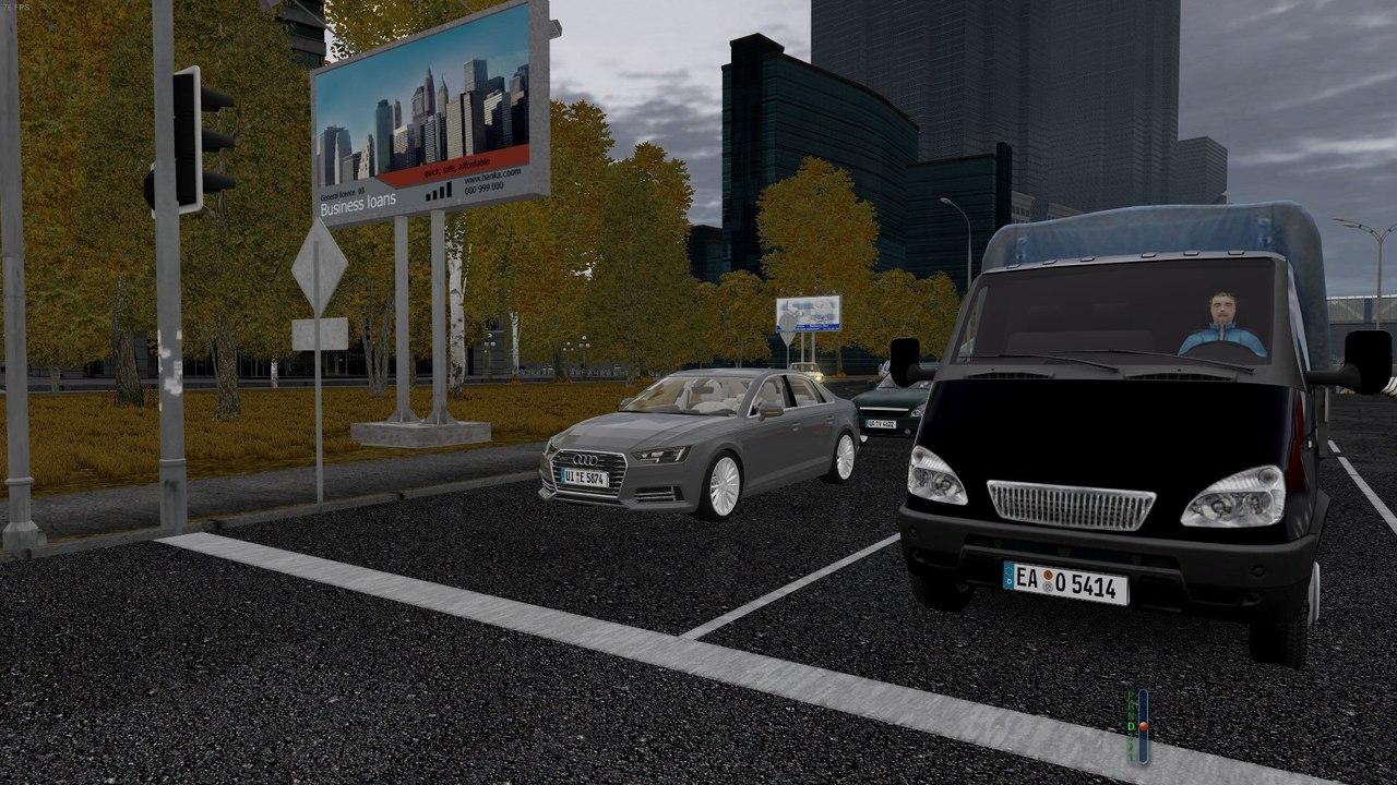 Audi A4 TFSI Quattro для City Car Driving 1.5.0-2