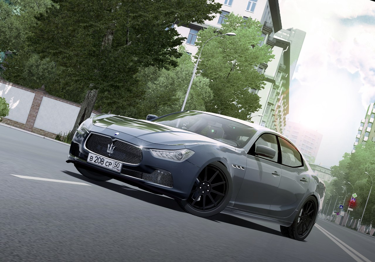 Maserati Ghibli для City Car Driving 1.5.0/3