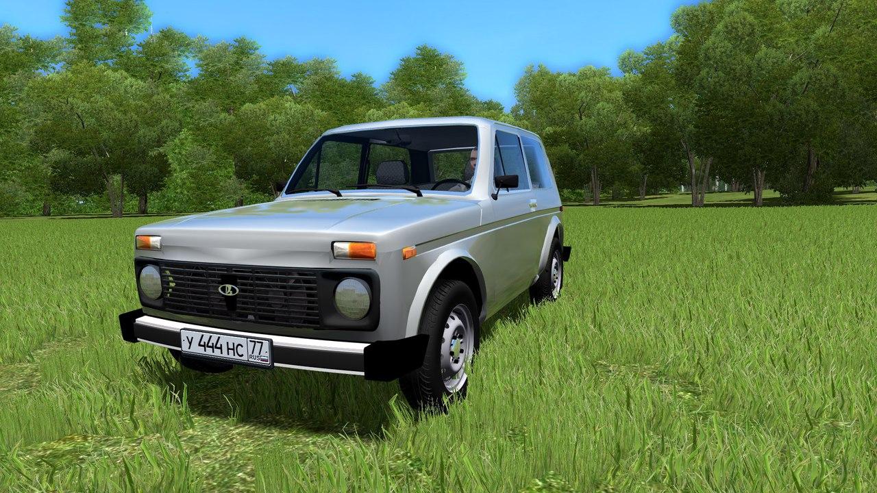 """ВАЗ 2121 """"Нива"""" для City Car Driving 1.5.0/1/2"""