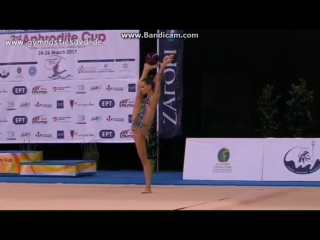 Ekaterina Selezneva - ball («Aphrodite Cup», 24-26.03.2017, Athens, Greece.)