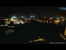 Мальта Десантный корабль док Нидерландов HNLMS ROTTERDAM L800 рискуя в полной темноте зашёл в порт Валлетта 12 11 2016