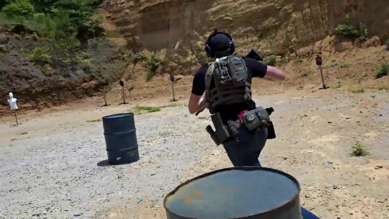 Various Carbine Fundamentals Drills - Shooting the ADM UIC 2