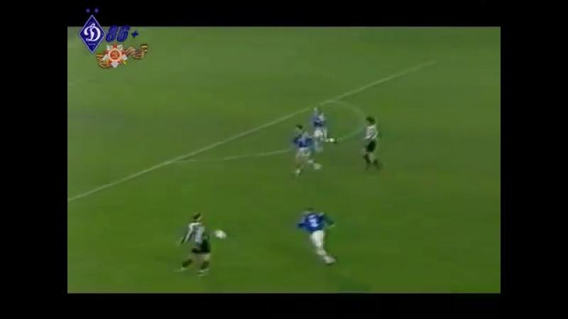 1_4 ЛЧ 1997_1998 Ювентус-Динамо Киев 1-1 - Первый Матч - Обзор ОРТ