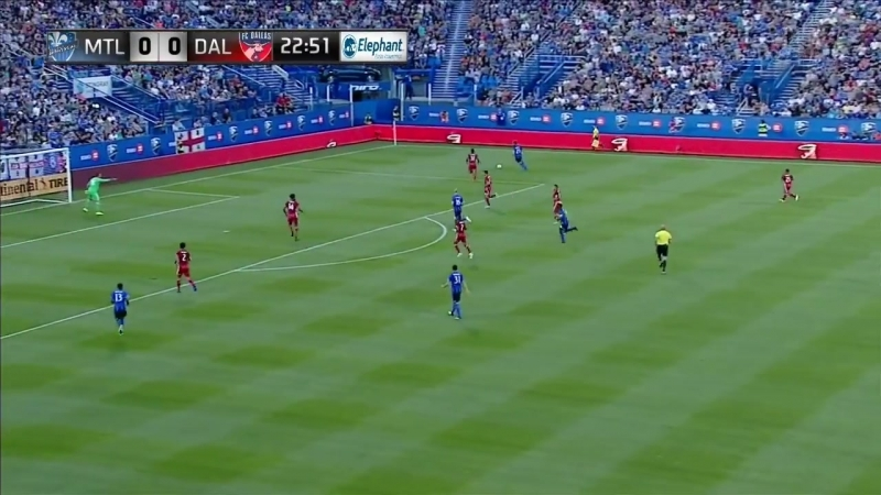 Монреаль - Даллас | Чемпионат МЛС 2017/18 | Обзор матча | 23.07.2017