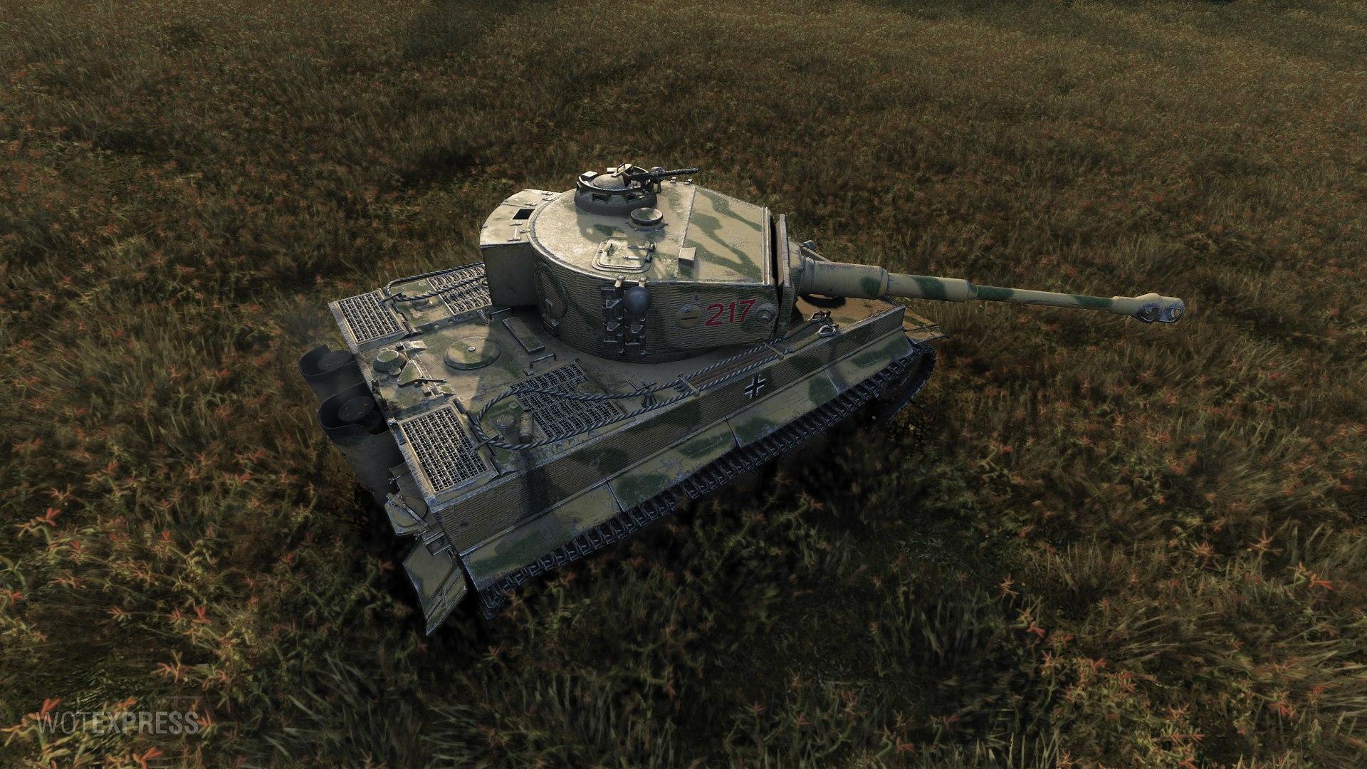 Tiger 217 Обзор еще одного Тигра.