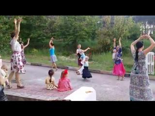Танцевальный вечер с Александрой Константиновой_Семейный Лагерь Ярко_Цыганочка