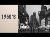 150 years in one minute Times Square, New York 150 лет за одну минуту Таймс Сквер