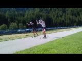 Скоростная тренировка сборной Норвегии в Обертиллиахе (август 2017)