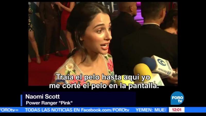 Estreno de Power Rangers reúne a fans en la CDMX _ Televisa News