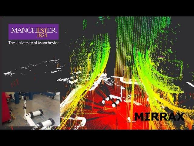 MIRRAX 150 - UoM Robotics - Reconfigurable Nuclear Decommissioning Robot