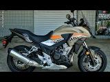 2016 Honda CB500X ABS Adventure Motorcycle   Walk-Around Video (500cc)   Review at HondaProKevin.com