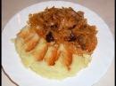Тушеная капуста с мясом бигус в мультиварке