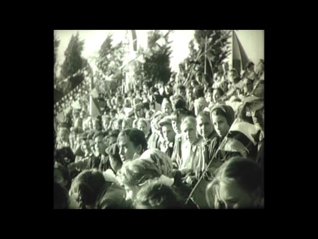 Історія, збережена в кінокадрах: Свято на стадіоні Колгоспник