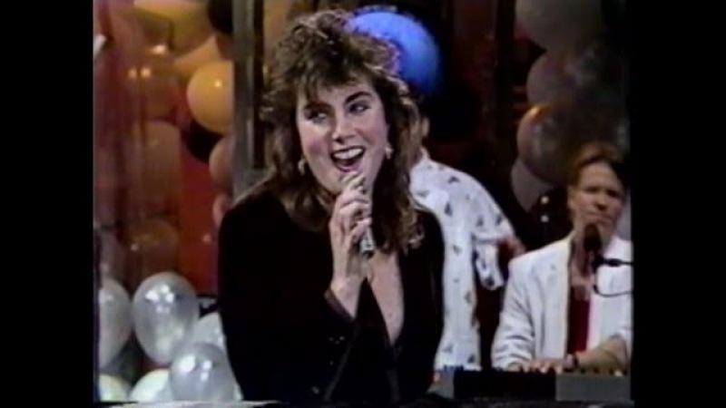 Laura Branigan - Maybe Tonight LIVE [cc] New Years Eve 1984