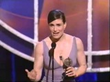 Idina Menzel wins 2004 Tony Award for Best Actress in a Musical