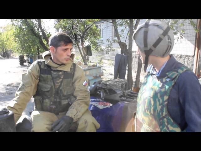 Novorossiya News 12 - A Day With Givi (Full English subs)