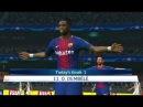 Barcelona vs Juventus - Full Match UEFA Champions League 2017 - Gameplay (Dembele Goal)