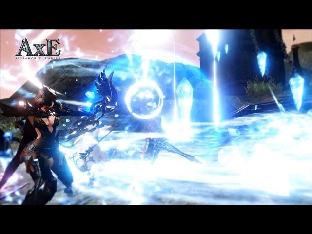 Alliance x Empire AxE CBT Tester Gameplay Trailer New Mobile Game 11 5 2017