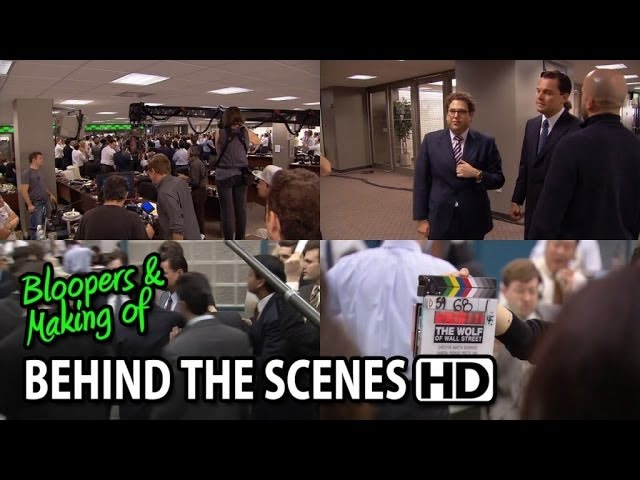 The Wolf of Wall Street (2013) Making of Behind the Scenes (Part1/2)