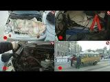 Реалии морозного ноября - машины с открытыми капотами на дороге. Сюжет программы