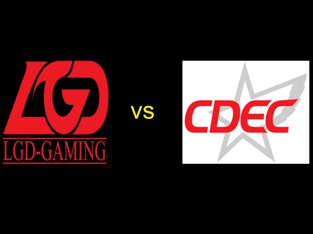 CDEC vs LGD game 1 dota 2 ACE Proisional