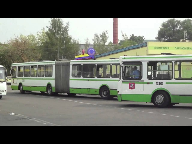 Buses of Moscow, Russia