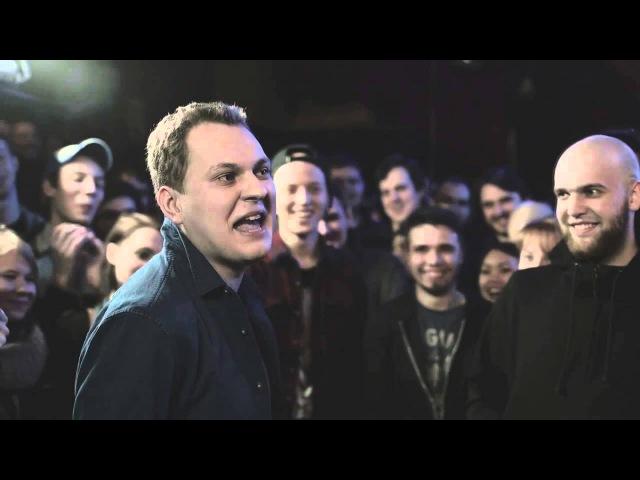 Полное ыступление Хованского против Ларина на Versus Battle (ЛУЧШЕЕ)