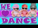 Куклы Пупсики ТАНЕЦ ДЛЯ МАМЫ Видео с игрушками для детей Dance for the babies