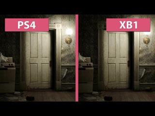 Resident Evil 7 – PS4 vs. Xbox One Graphics Comparison