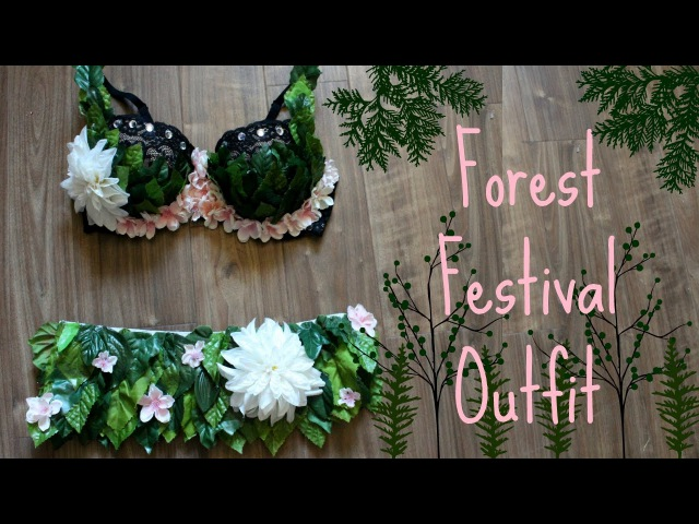 DIY Electric Forest Inspired Festival Outfit ♥