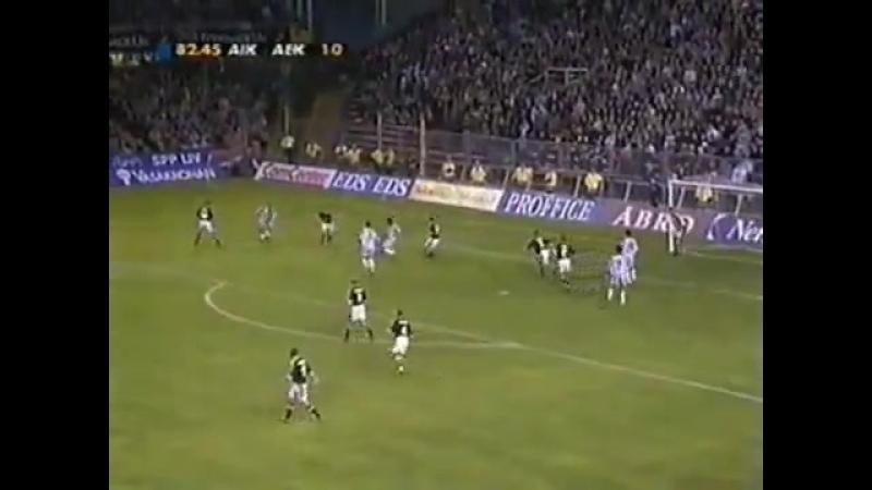 ЛЧ 1999/2000 : AIK 1-0 AEK
