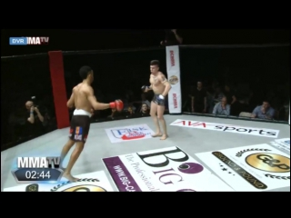 Got Too Cocky_ MMA Fighter Gets Knocked Out With A Kick To Face After Taunting H