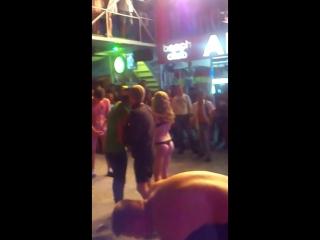 Russians strip game club