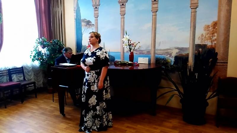 Violetta, Романс Наташи из оперы