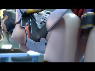 Overwatch - soldier fucks mercy