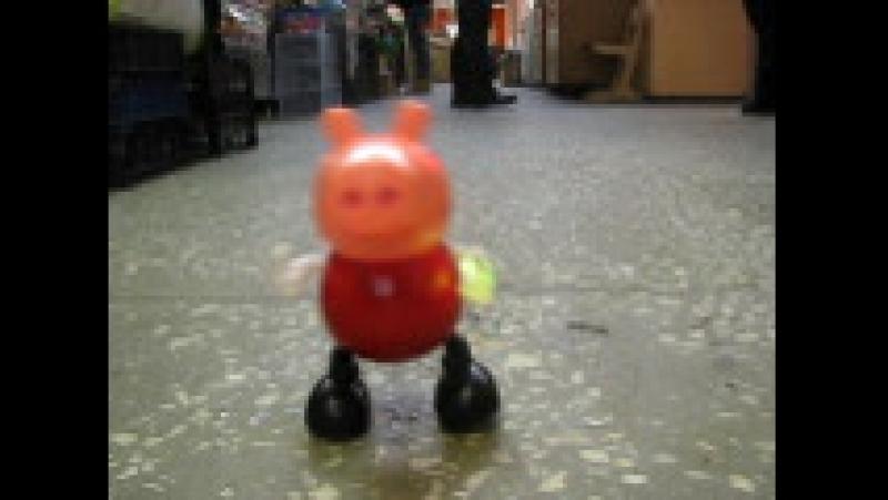 свинка пепа танцующая